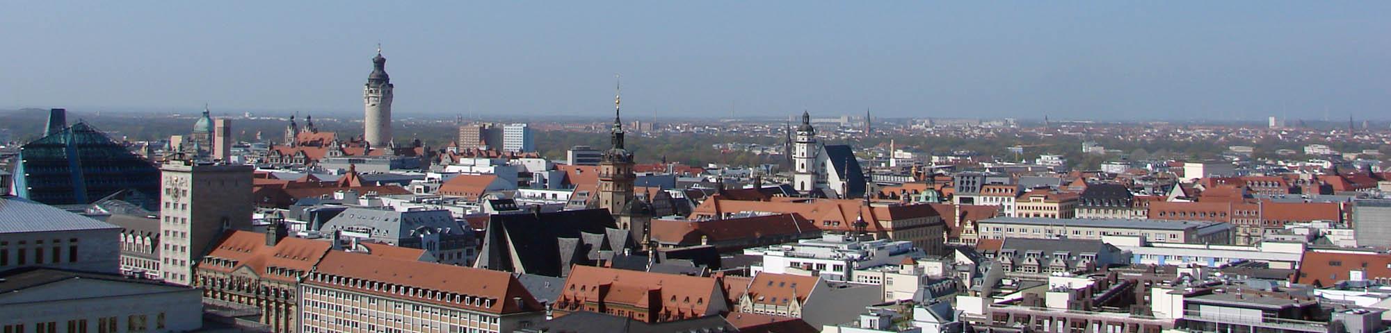 Stadtansicht Leipzig, Foto Kerstin Krumbholz