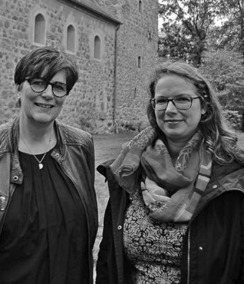Gemeindepädagogin Cornelia Gramm und Pfarrerin Simone Berger-Lober